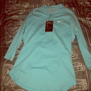 NWT Womens Nike Dri-Fit Activewear 3/4 Sleeve Top